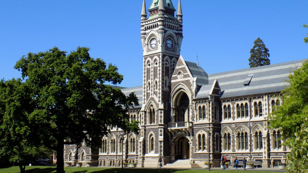 新西兰 university of otago