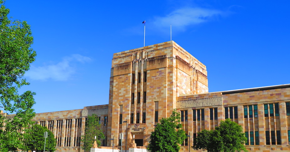 University of Queensland 昆士兰大学