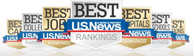 美国大学排名 美国新闻世界报导
