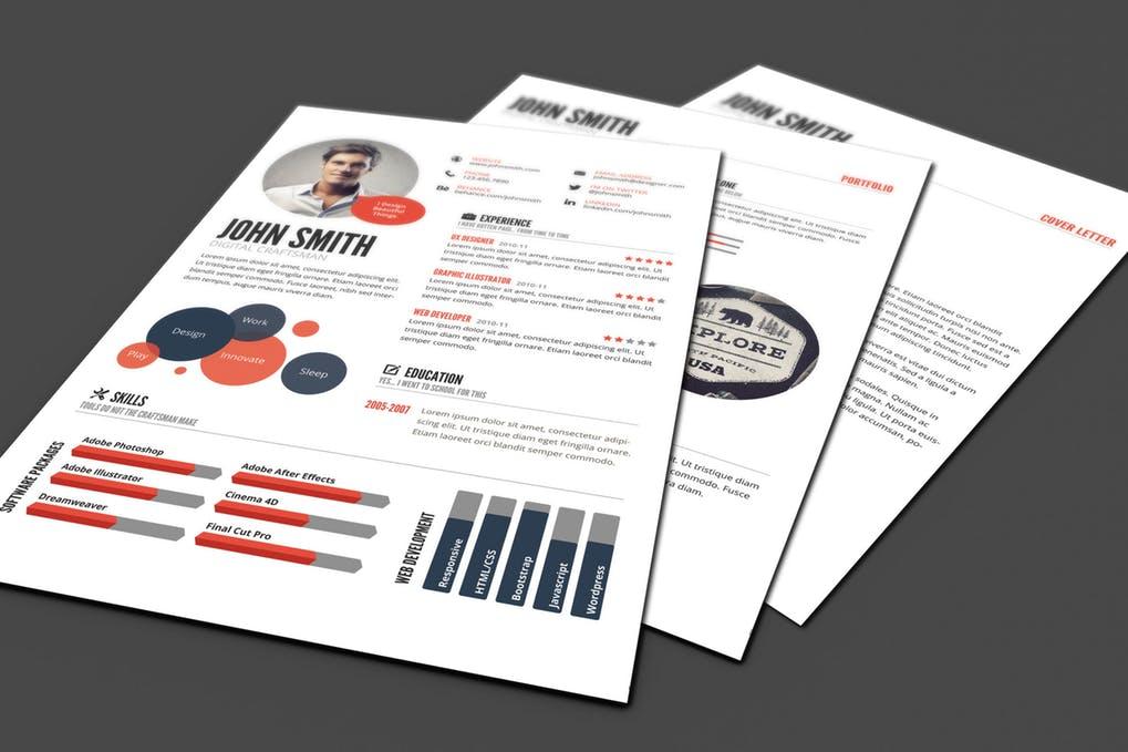 Resume模板 个性化简历