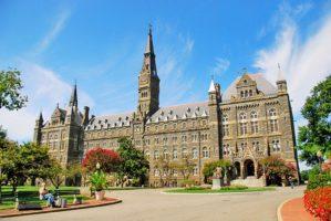美国大学排名 乔治城大学