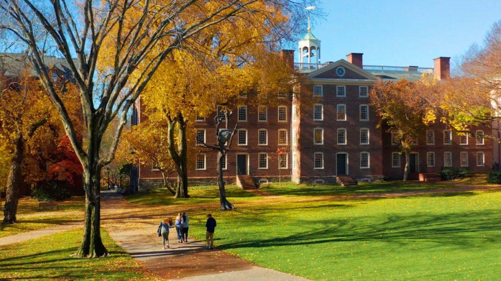 美国大学排名 Brown University