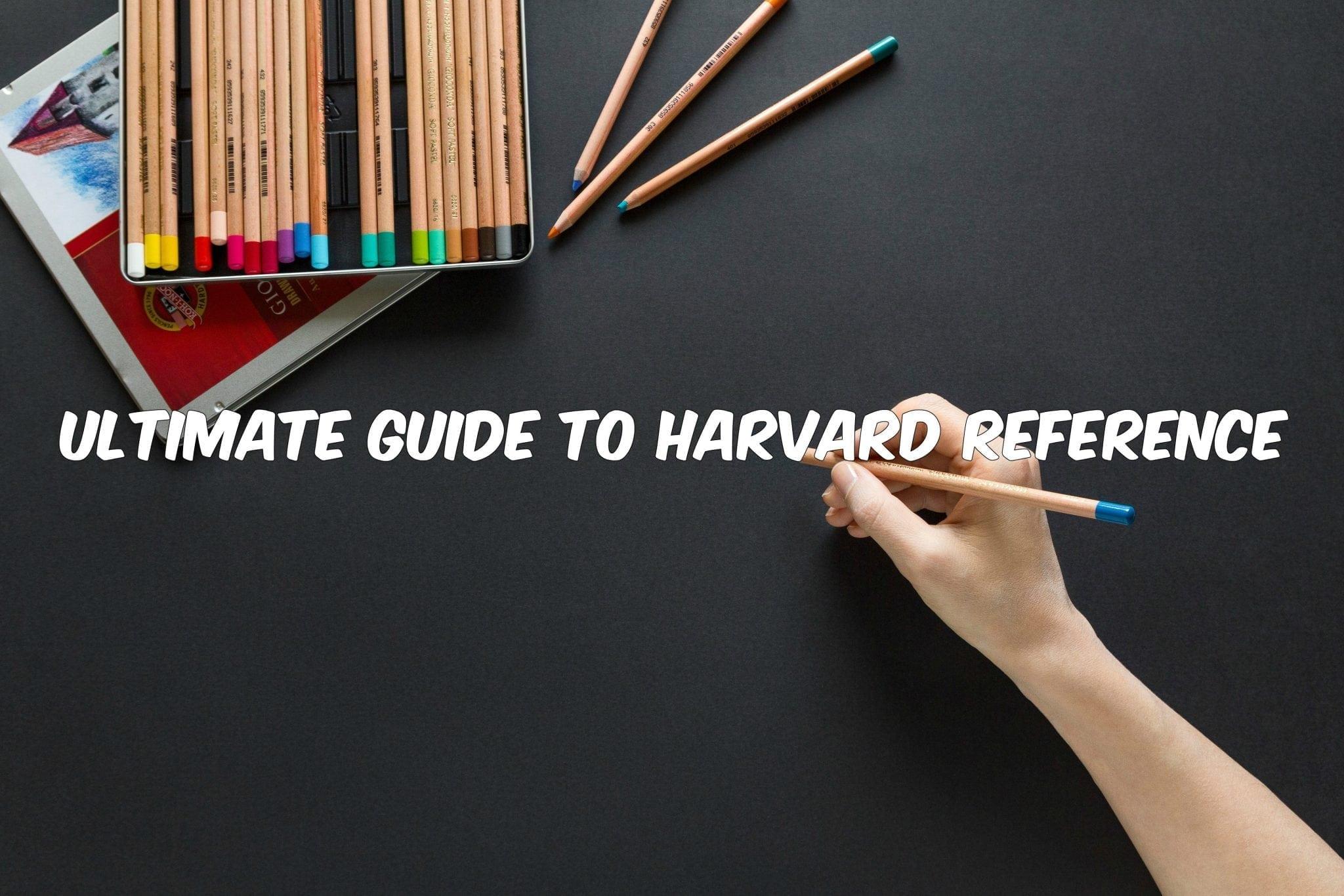 英国Essay代写 哈佛引用格式