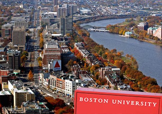 美国大学排名 波士顿大学