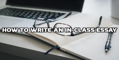 加拿大论文代写 In-Class Essay