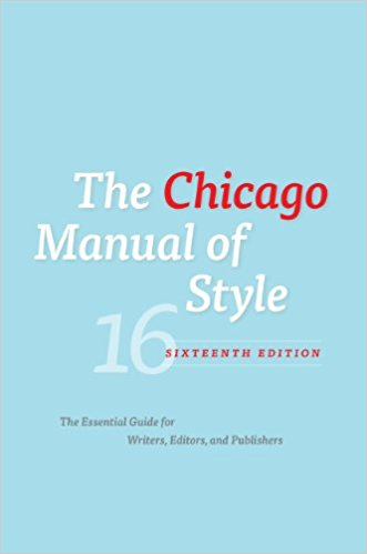 北美代写推荐 写作指南 The Chicago Manual of Style.