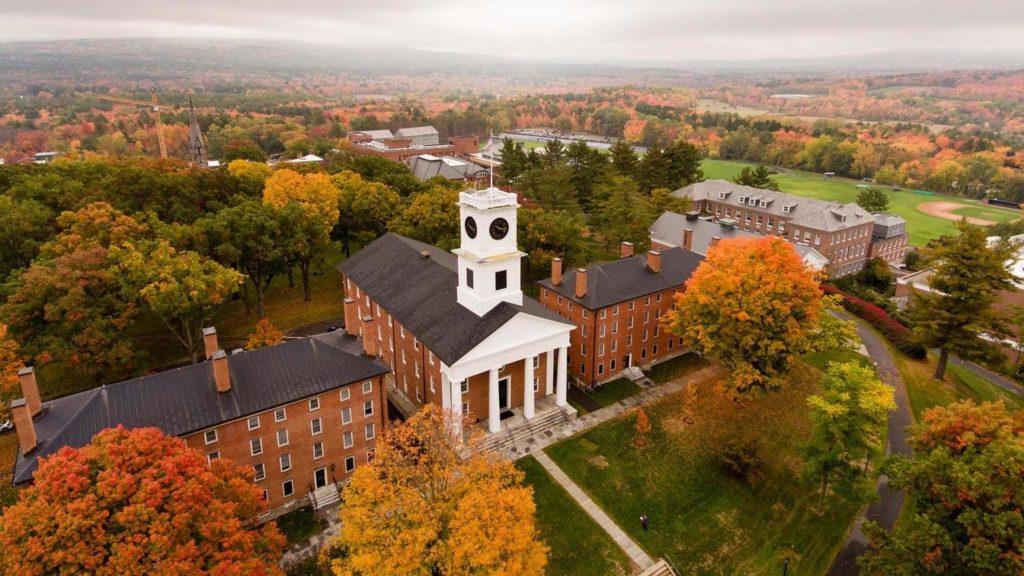 美国留学申请选校 Amherst College