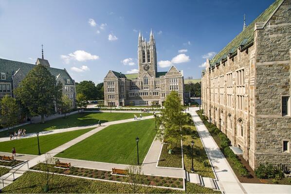 美国留学申请选校 Boston College